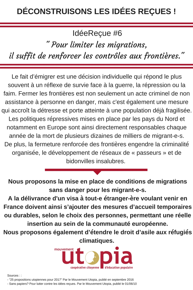 Idée Reçue #6 Migrations