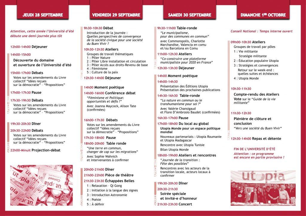 utopia invitation université été V2-2