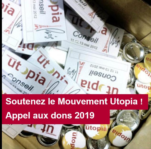 Soutenez le Mouvement Utopia