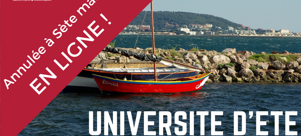 [EN LIGNE] – Université d'Été 2020 – Mouvement Utopia