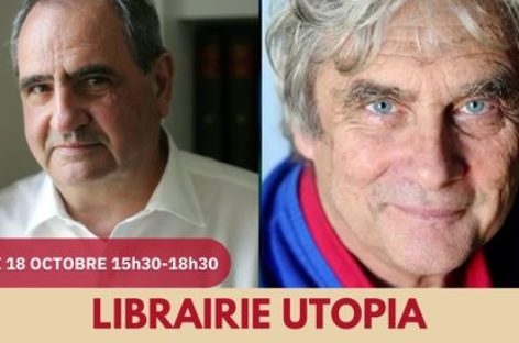 [RENCONTRE] Avec Pierre Rosanvallon et Patrick Viveret – Lundi 18 octobre